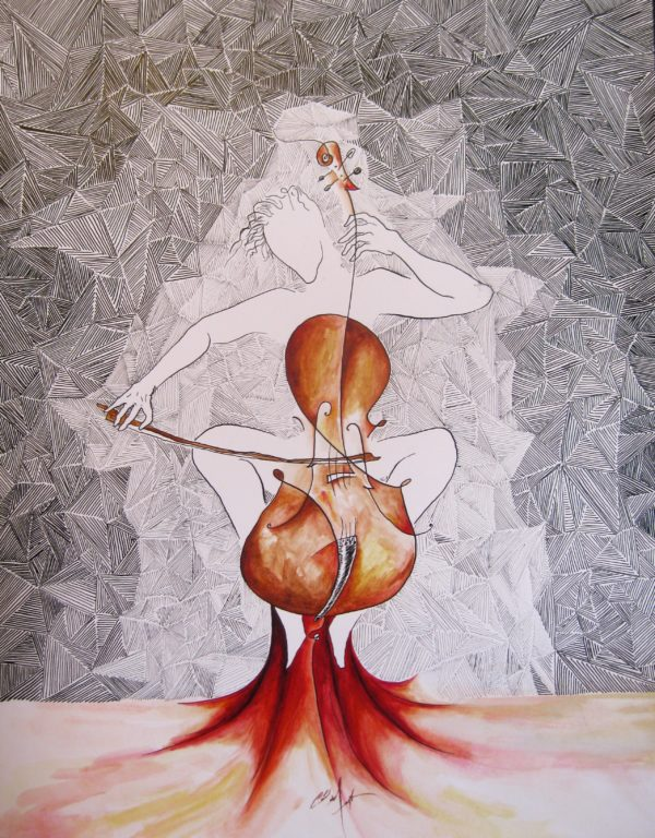 Cello Player (Cellista)
